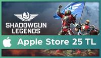 Shadowgun Legends Apple Store 25 TL