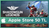 Shadowgun Legends Apple Store 50 TL