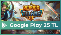 Heroes and Titans Google Play 25 TL