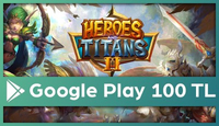 Heroes and Titans Google Play 100 TL