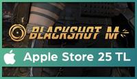 BlackShot M Apple Store 25 TL