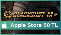 BlackShot M Apple Store 50 TL