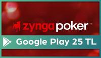 Zynga Poker Google Play 25 TL