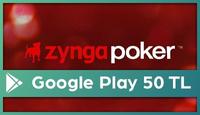 Zynga Poker Google Play 50 TL