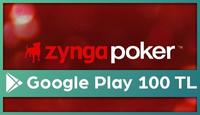 Zynga Poker Google Play 100 TL