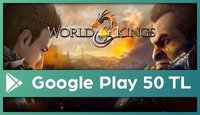 World of Kings Google Play 50 TL
