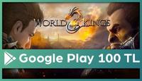 World of Kings Google Play 100 TL