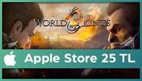 World of Kings Apple Store 25 TL