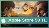 World of Kings Apple Store 50 TL