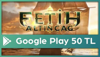 Fetih: Altın Çağ Google Play 50 TL