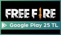 Garena Free Fire: Evrim Google Play 25 TL