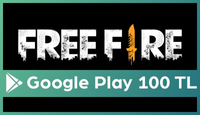 Garena Free Fire: Evrim Google Play 100 TL
