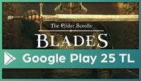 The Elder Scrolls: Blades Google Play 25 TL