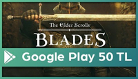 The Elder Scrolls: Blades Google Play 50 TL