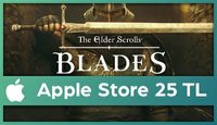 The Elder Scrolls: Blades Apple Store 25 TL