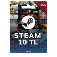 Steam Cüzdan Kodu 10 TL