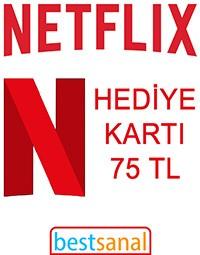 75 TL Netflix Hediye Kart