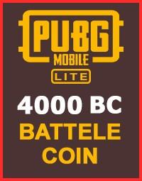 4000 PUBG Mobile Lite BC