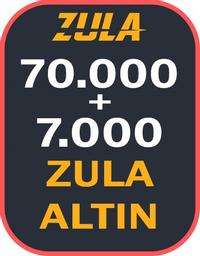 70.000 + 7000 Bonuslu Zula Altın