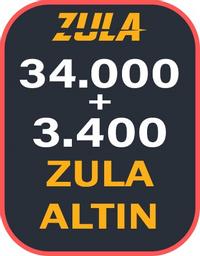 34.000 + 3400 Bonuslu Zula Altın
