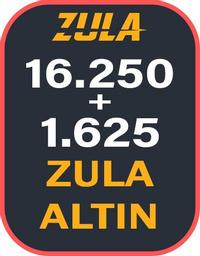16.250 + 1625 Bonuslu Zula Altın