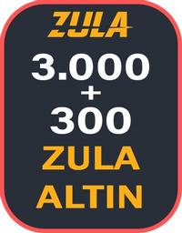 3.000 + 300 Bonuslu Zula Altın