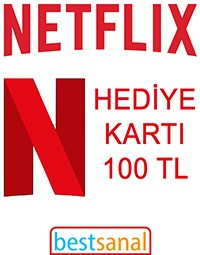 100 TL Netflix Hediye Kart