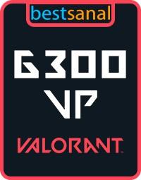 6300 VP Valorant Point