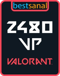 2480 VP Valorant Point