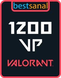 1200 VP Valorant Point