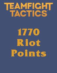 Teamfight Tactics 1770