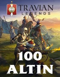 Travian Legends 100 Altın