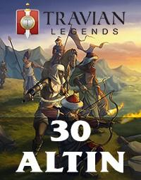 Travian Legends 30 Altın
