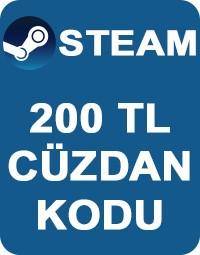 200 TL Steam Cüzdan Kodu