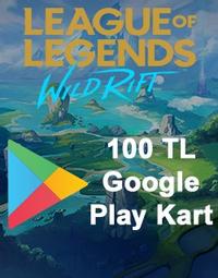 Wild Rift RP Google Play Kart 100 TL