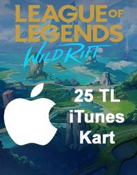 Wild Rift RP Apple iTunes Kart 25 TL