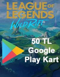 Wild Rift RP Google Play Kart 50 TL