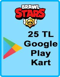 Brawl Stars Elmas Google Play Kod 25 TL