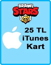 Brawl Stars Elmas Apple iTunes Kod 25 TL