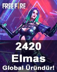 Free Fire 2420 Elmas (Diamond)