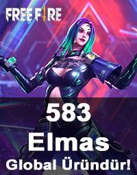 Free Fire 583 Elmas (Diamond)