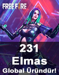 Free Fire 231 Elmas (Diamond)