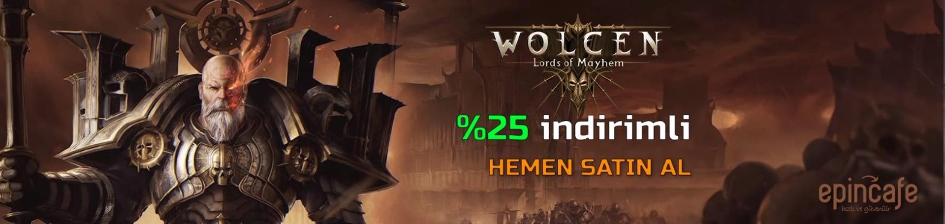 Wolcen Lords of Mayhem  indirimli satın al