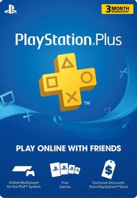 Playstation Plus - 3 Aylık - UK
