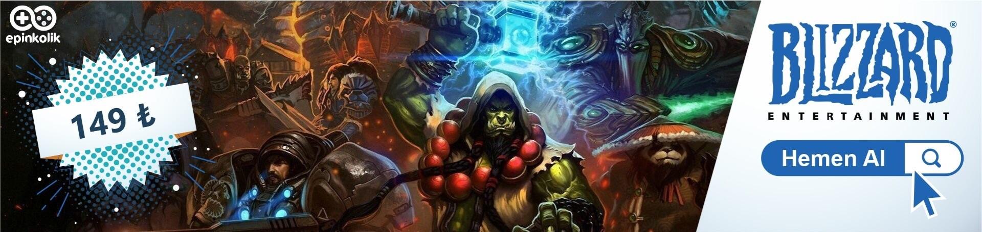Blizzard 20€ İndirimli Fiyatıyla Stoklarımızda!