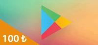 Google Play Kart 100 TL