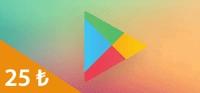 Google Play Kart 25 TL