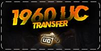 1960 PUBG Mobile UC Transfer ( KAMPANYALI )