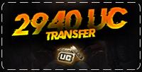 2940 PUBG Mobile UC Transfer ( KAMPANYALI )