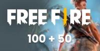 [TR] Free Fire 100+50 Elmas (İlk Yüklemede 200)
